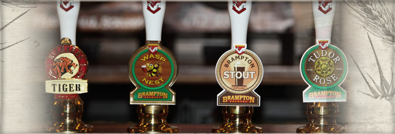 The finest real ales from Brampton Brewery